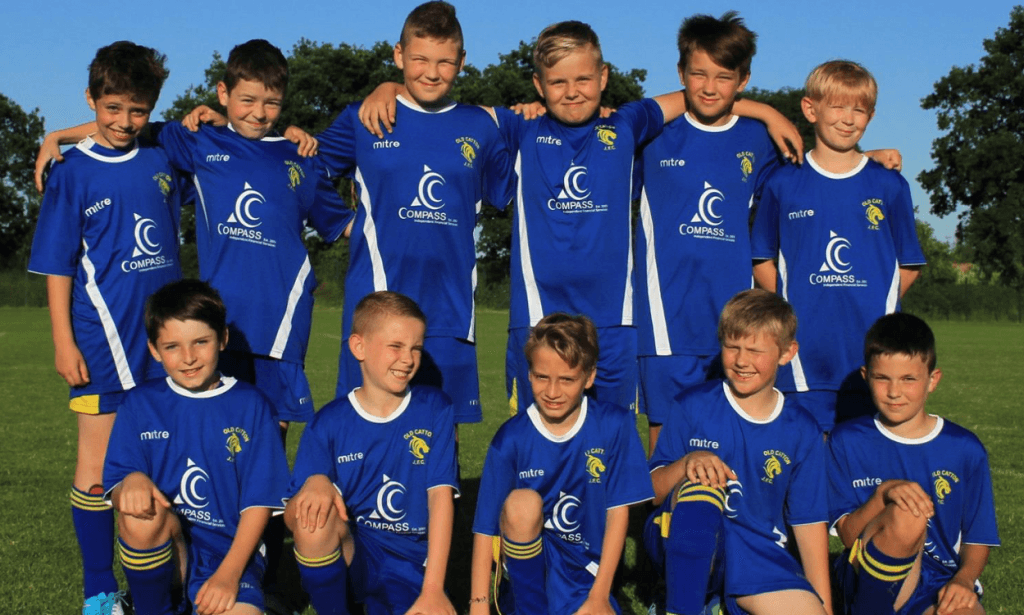 Old Catton Tigers Under 10's Football Team